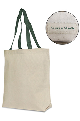 """Liberty Bags """"Jennifer"""" Recycled Cotton Canvas Tote"""