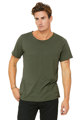 3014 MEN JERSEY RAW NECK T