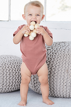 BELLA+CANVAS Baby Triblend Short Sleeve One Piece