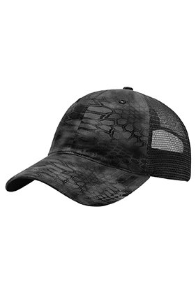 Richardson Washed Printed Trucker