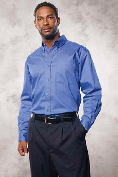 FeatherLite Long Sleeve Twill with Teflon