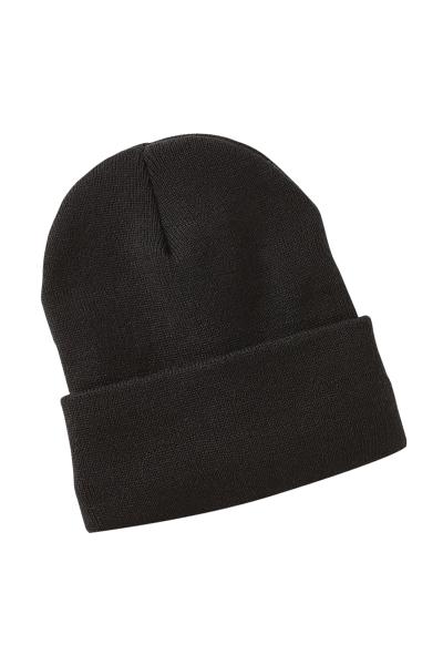 Sherpa Lined Knit Hat