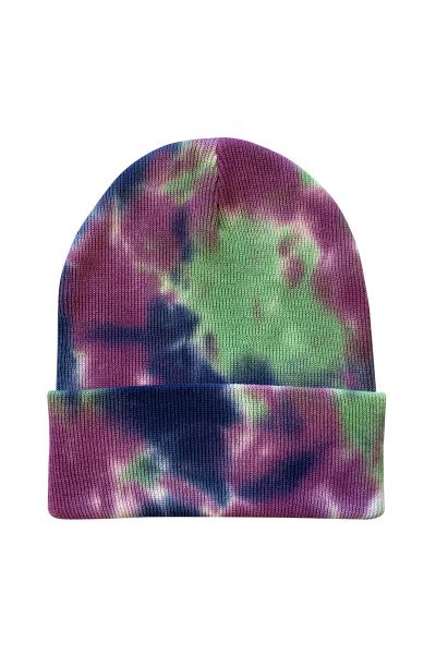 SP412SP Sportsman Tie-Dye Knit Cap